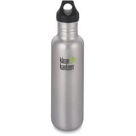 Klean Kanteen Classic Bottle Loop Cap 800ml Brushed Stainless